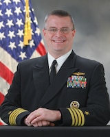 Photo of Captain Andrew Charles, USN