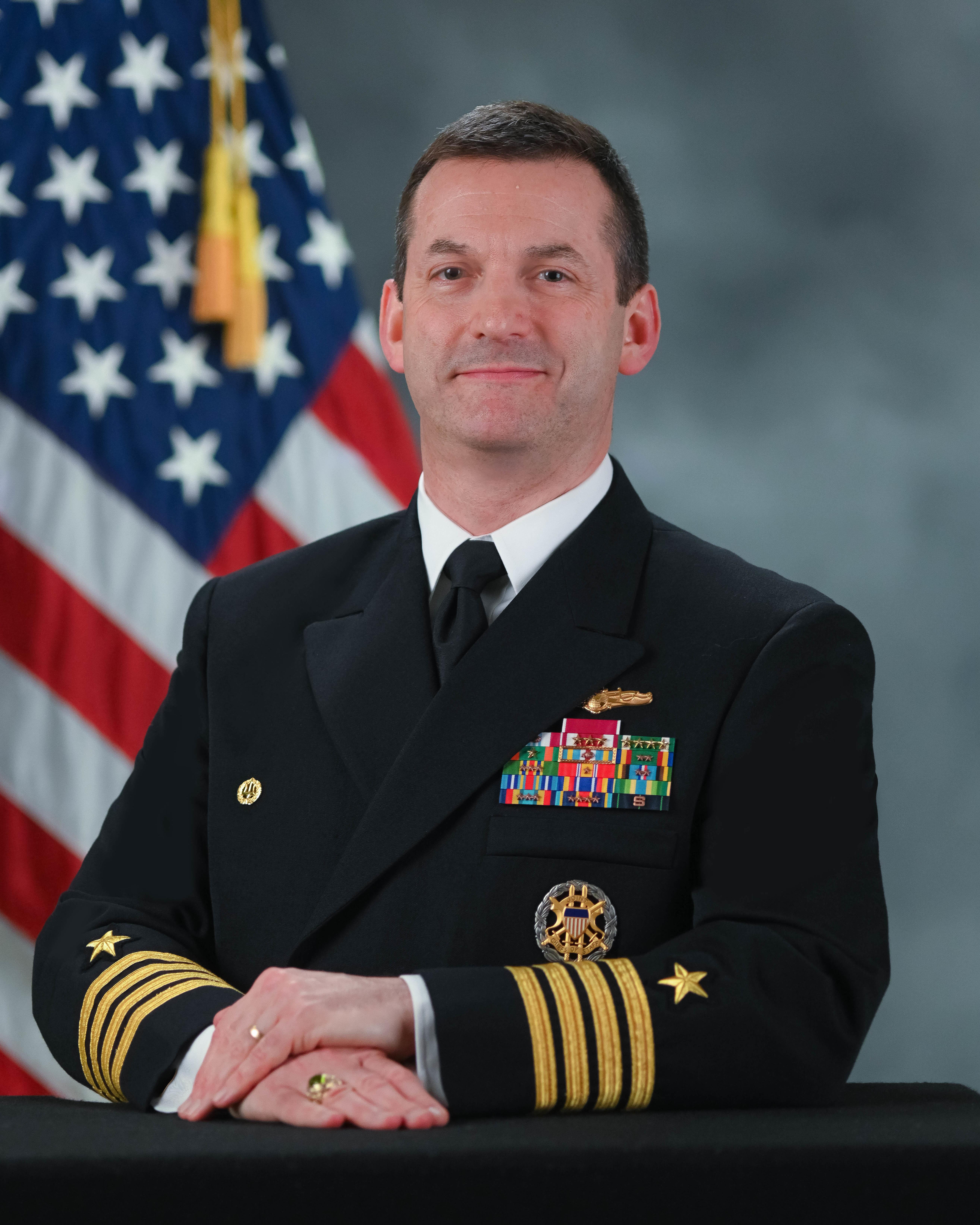 Commanding Officer Nimitz Operational Intellgence Center