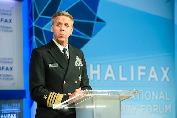 Admiral Phil Davidson Interview, Halifax International Security Forum