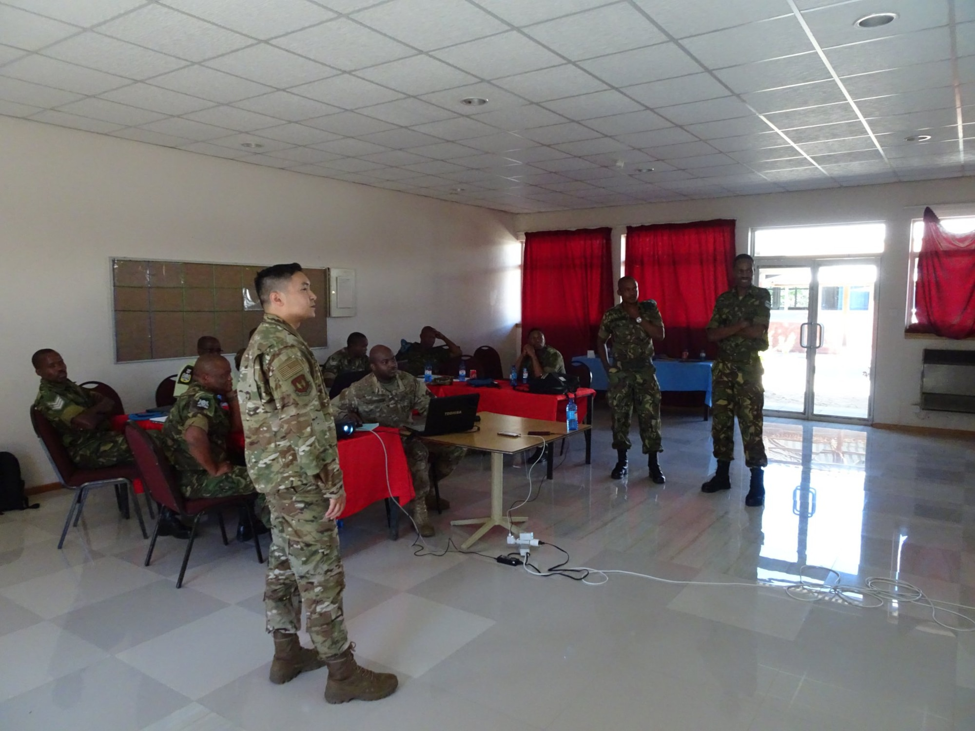 Kisling NCOA partners with Botswana Air Arm to develop professional curriculum