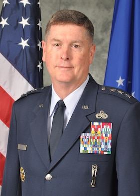 An image of Lt. Gen. Gene Kirkland, Air Force Sustainment Center commander