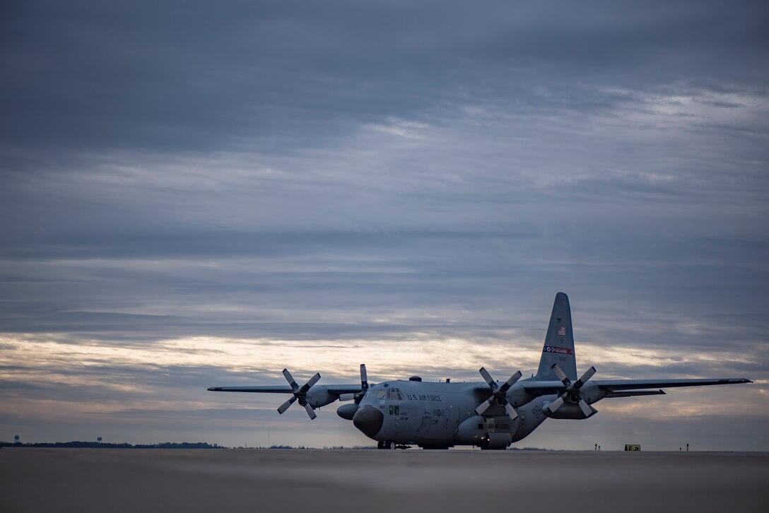 A C-130H Hercules
