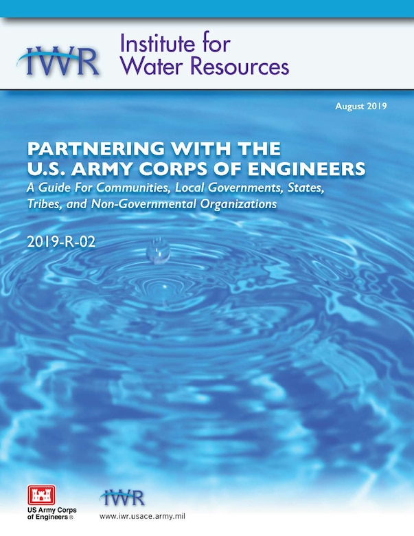 Report Cover for Partnering with the USACE (2019-R-02)