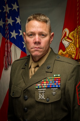 Inspector-Instructor First Sergeant, Headquarters Company, 25th Marine Regiment