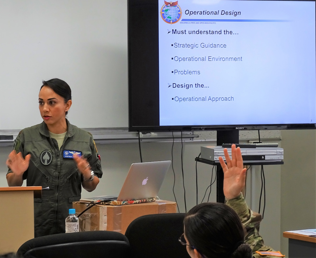 USINDOPACOM Conducts First Gender in Operations Course in Japan