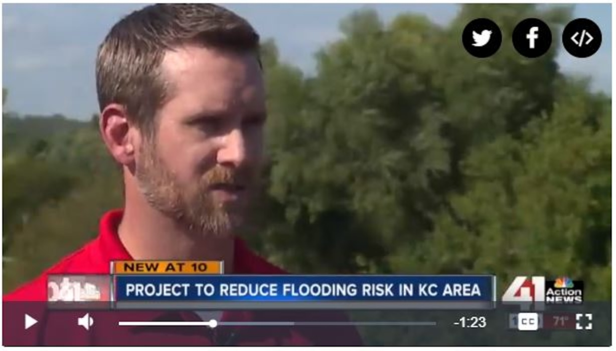 Scott Mensing, Project Manager for the Kansas Citys Levees Program, met with Channel 41 news to help explain this $453 million project & benefits to the Kansas City Metro area.