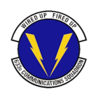 633d Communications Squadron shield