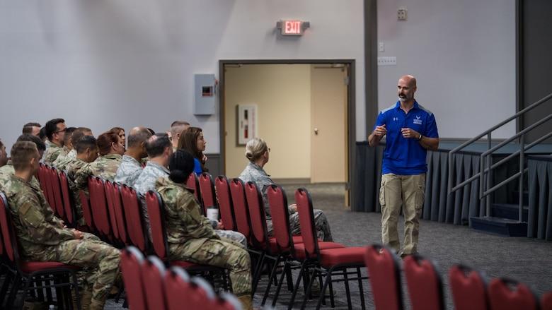 Air Force Wounded Warrior Program ambassador visits Barksdale