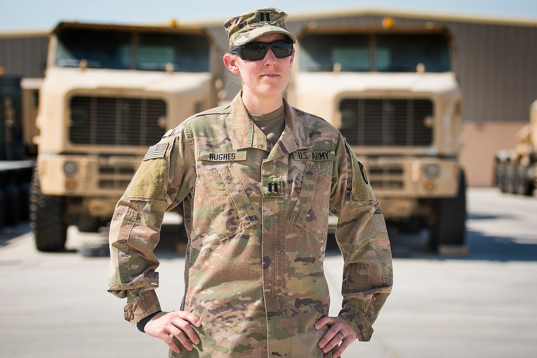 Army Reserve Soldier fills key role at APS-5 in Qatar