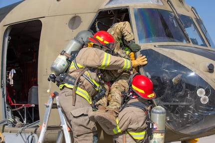 Task Force Dragonmaster 5-159th GSAB Army Reserve Aviation Medical Simulation Exercise