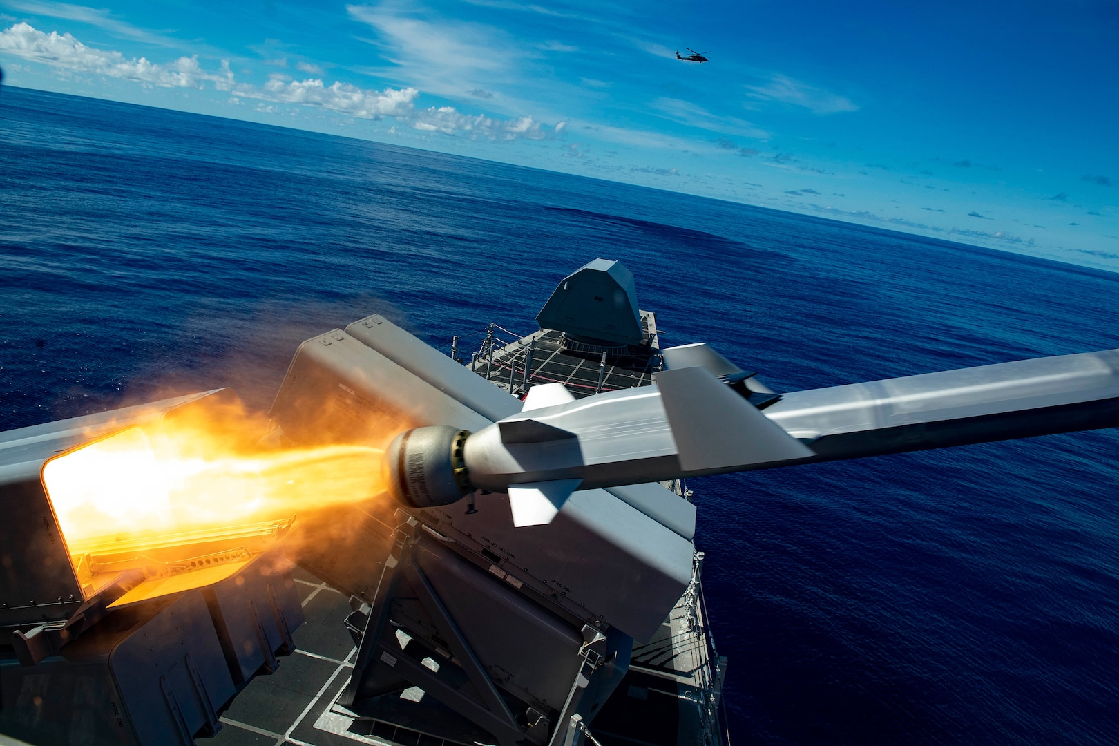 LCS, USS Gabrielle Giffords, Successfully Launches Naval Strike Missile