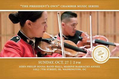 Fall Chamber Music Series: Oct. 27