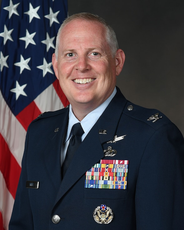 Col. Dale White was appointed the Program Executive Officer for the newly created Advanced Aircraft Directorate during an Oct. 2, 2019 ceremony at Wright-Patterson Air Force Base, Ohio.