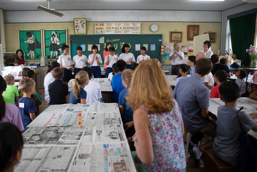 MCAS Iwakuni residents receive a delicous culture lesson