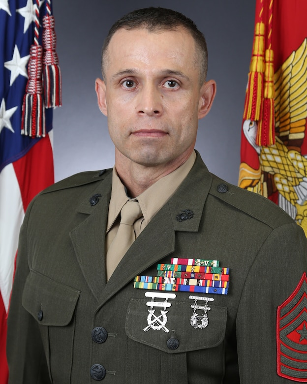 Sergeant Major Carlos A. Orjuela, Marine Corps Air Station New River sergeant major