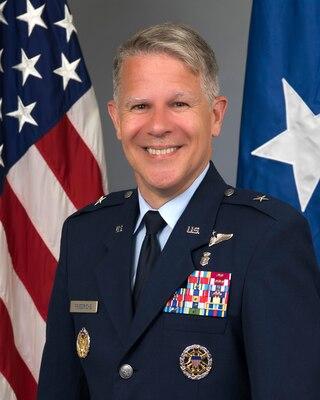 Official Bio Photo for Joint Staff Surgeon Brig. Gen. Paul Friedrichs