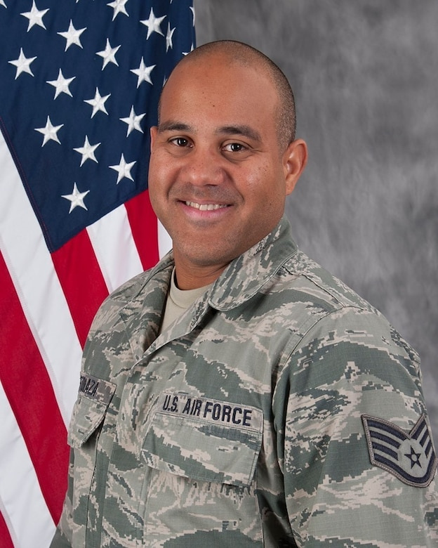 The 149th Fighter Wing's Military Equal Opportunity Office, assigned to the Texas Air National Guard, is recognizing U.S. Air Force Staff Sgt. Cesar Ostolaza during National Hispanic Heritage Month, which is observed every year from Sept. 15 - Oct. 15.