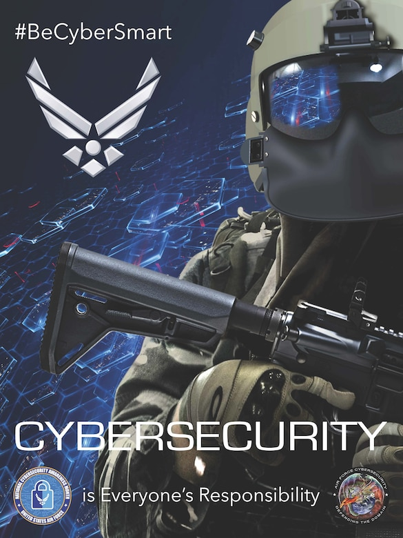 Air Force observes National Cybersecurity Awareness Month in October.