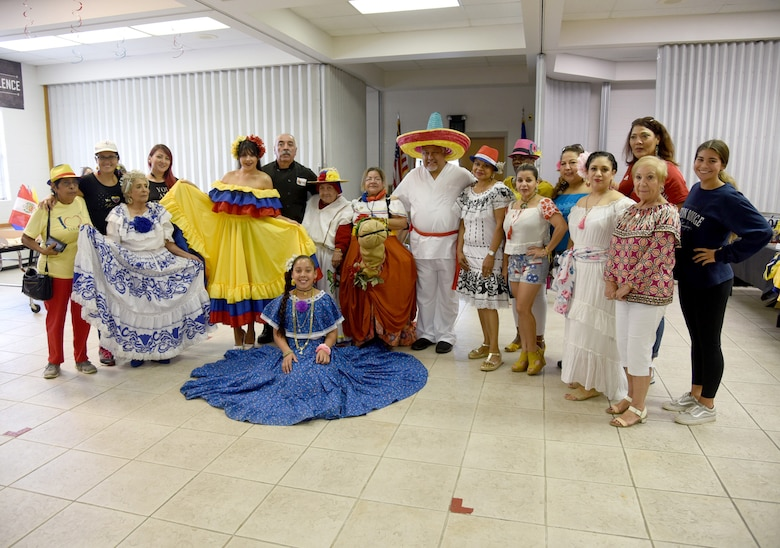 An image from Hispanic American Heritage Month fiesta.