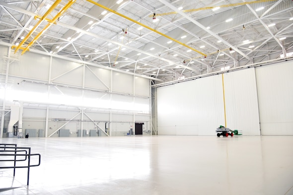 An image of the new KC-46 Pegasus maintenance campus.