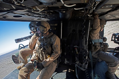 MAWTS-1 Marines conduct an Offensive Air Support Exercise