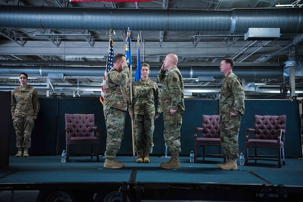 38 APS Welcomes New Commander