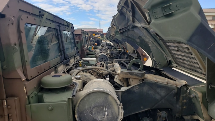 Greywolf Increases Readiness with Focused Maintenance Program