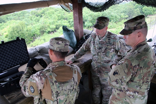 38th Air Defense Artillery  Brigade Welcomes Task Force Talon