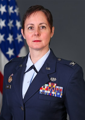 Col Mynda G. Ohman serves as the Staff Judge Advocate, Air Reserve Personnel Center at Buckley Air Force Base, Colorado.