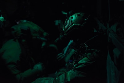 The 352nd SOW performed a mass casualty training exercise to build on their readiness.