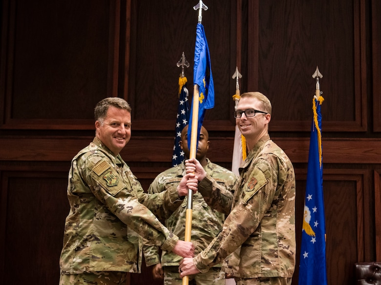 Ivey assumes command of 187 MXS