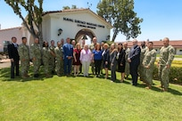 Photos takes during VADM Peters Visit.