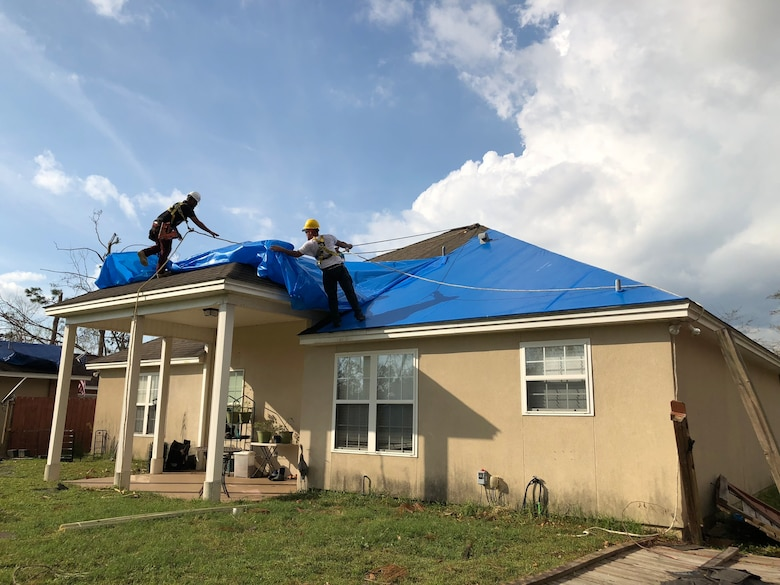 Hurricane Michael, a category 5 storm, after it made landfall on Oct. 10, 2018 was the strongest storm to hit the continental U.S. since 2004.