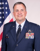 Official Air Force photo for Col. Patric Coggin