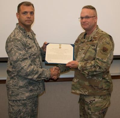 Carson Awarded Volunteer Medal