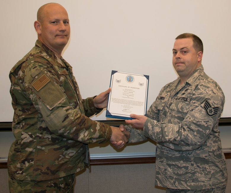 Bowers Promoted to Tech Sgt