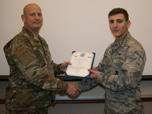 Cole Promoted to Airman