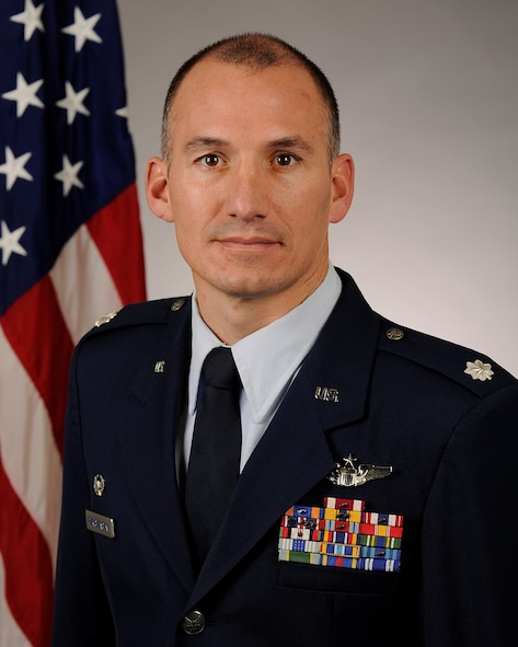 U.S. Air Force Lt. Col. James Christensen