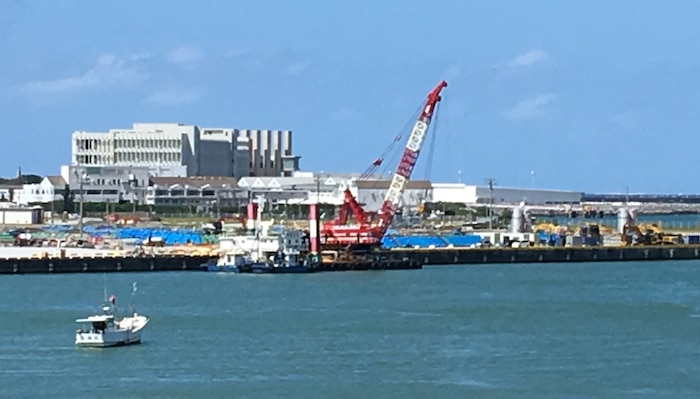Naha Port Undergoes First Dredging in 30 Years