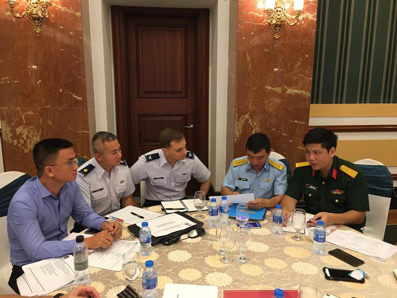 Ninth Iteration of US-Vietnam Airman-to-Airman Talks Held in Hanoi