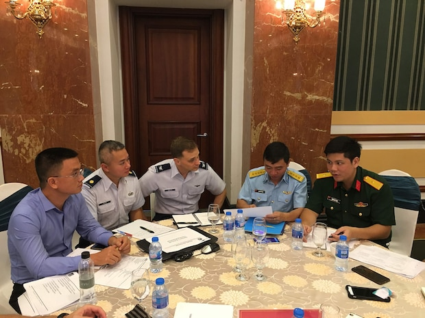 Ninth Iteration of US-Vietnam Airman-to-Airman Talks Held in Hanoi