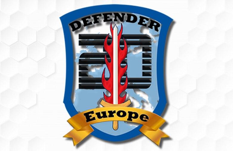 DEFENDER-Europe 20 logo/crest