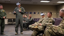 Gen. Ray tours 2nd BW, fosters competition culture in Airmen
