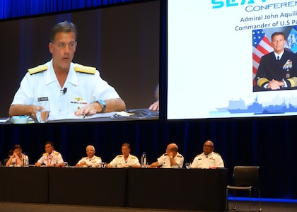 Pacific Fleet Commander Visits Sydney for Pacific International Maritime Exposition