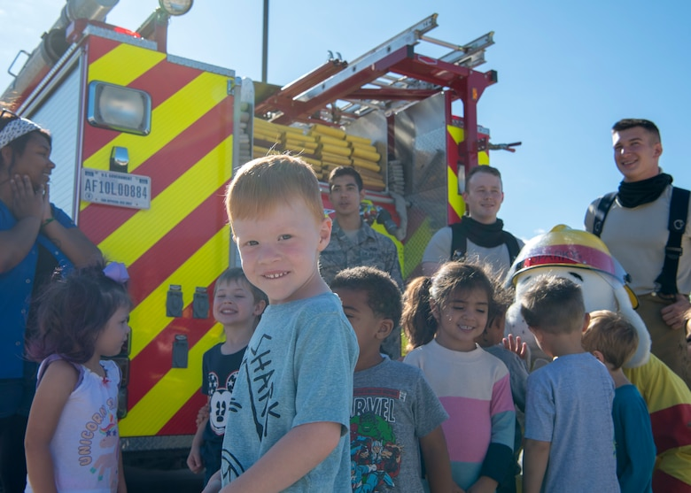 Holloman participates in 2019 Fire Prevention Week