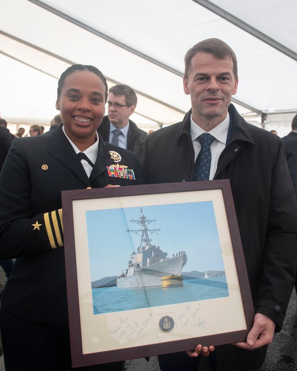 USS Donald Cook; Faroe Islands