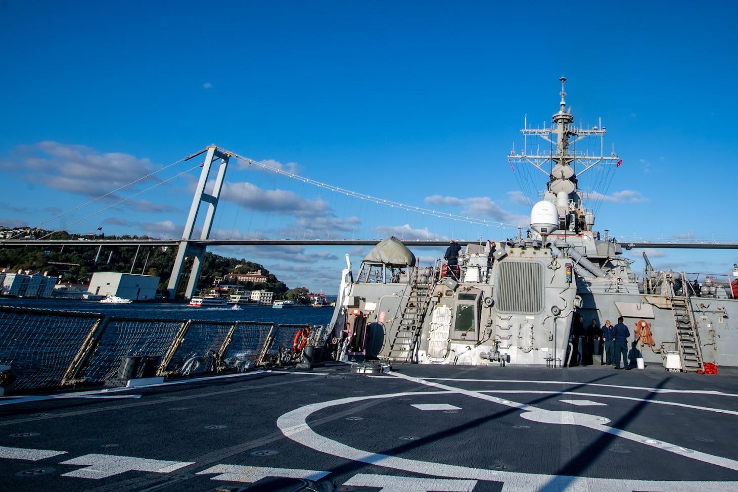USS Porter; Black Sea