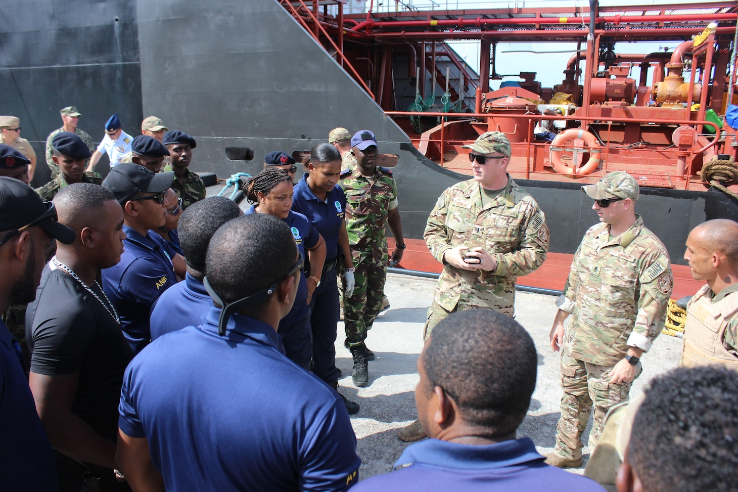 USN; USCG; Seychelles; Law Enforcement