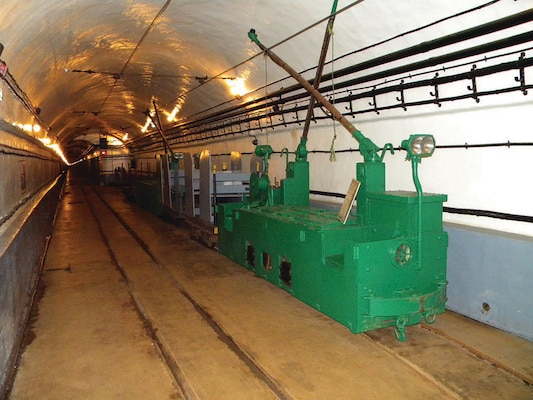 Miles of tunnels make up the underground structure of the Maginot Line, an underground structure built by the French to protect them during World War II, and shown here in 2010. The Germans broke through the Line—then arguably the most advanced fortification—in 1940. (Herald Post/David Walker)