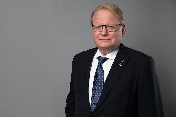 Swedish Minister of Defense Peter Hultqvist